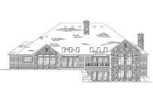 Dream House Plan - European Exterior - Rear Elevation Plan #5-351