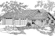 Craftsman Style House Plan - 0 Beds 1 Baths 693 Sq/Ft Plan #124-796 Exterior - Front Elevation