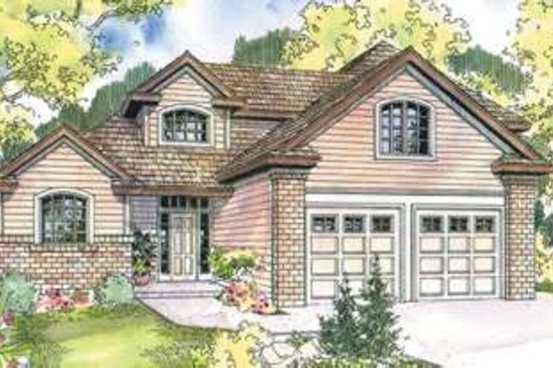 Home Plan - Traditional Exterior - Front Elevation Plan #124-584
