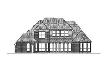 Dream House Plan - European Exterior - Rear Elevation Plan #84-413