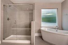 Colonial Interior - Master Bathroom Plan #1066-76
