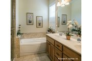 Country Style House Plan - 3 Beds 2 Baths 1727 Sq/Ft Plan #929-704 Interior - Master Bathroom
