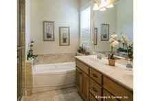 Dream House Plan - Country Interior - Master Bathroom Plan #929-704