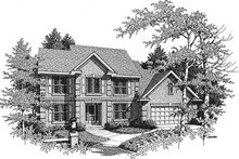 Traditional Exterior - Front Elevation Plan #70-441