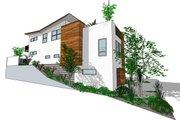 Modern Style House Plan - 3 Beds 3.5 Baths 1990 Sq/Ft Plan #484-1 Photo