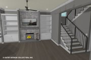 Contemporary Style House Plan - 3 Beds 3 Baths 2419 Sq/Ft Plan #930-521 Interior - Family Room