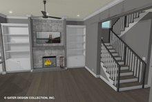 Dream House Plan - Contemporary Interior - Family Room Plan #930-521
