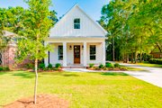 Cottage Style House Plan - 4 Beds 2.5 Baths 2184 Sq/Ft Plan #430-117 Exterior - Front Elevation