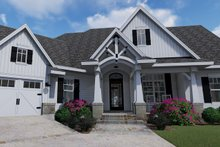 Architectural House Design - Front Entry