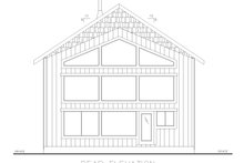 House Plan Design - Country Exterior - Rear Elevation Plan #117-902