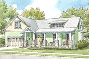 Craftsman Style House Plan - 3 Beds 2.5 Baths 2021 Sq/Ft Plan #900-5 Exterior - Front Elevation