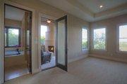 Mediterranean Style House Plan - 4 Beds 4.5 Baths 4185 Sq/Ft Plan #935-4 Interior - Master Bedroom