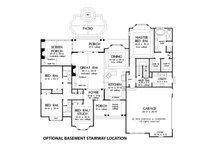 Optional Basement Stairway Location
