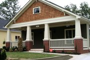 Craftsman Style House Plan - 3 Beds 2 Baths 1728 Sq/Ft Plan #461-26