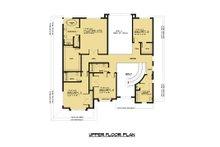 Prairie Floor Plan - Upper Floor Plan Plan #1066-72