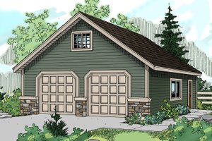 Home Plan Design - Traditional Exterior - Front Elevation Plan #124-633