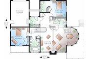 Contemporary Style House Plan - 2 Beds 2 Baths 1400 Sq/Ft Plan #23-873 Floor Plan - Main Floor Plan