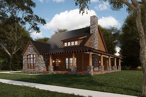 Craftsman Exterior - Other Elevation Plan #923-178
