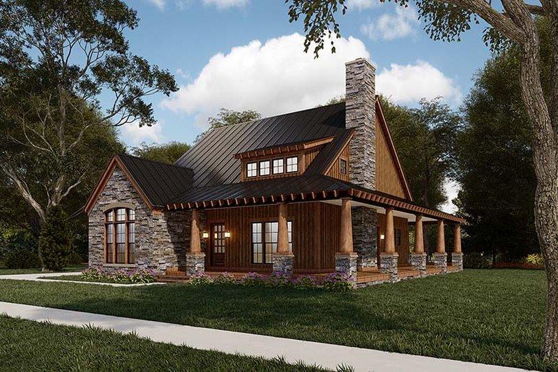 House Design - Craftsman Exterior - Other Elevation Plan #923-178
