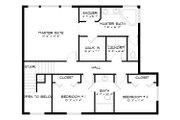 Traditional Style House Plan - 3 Beds 2.5 Baths 2026 Sq/Ft Plan #1060-49 Floor Plan - Upper Floor Plan