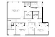 Traditional Style House Plan - 3 Beds 2.5 Baths 2026 Sq/Ft Plan #1060-49 Floor Plan - Upper Floor