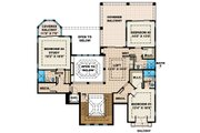 Mediterranean Style House Plan - 4 Beds 5.5 Baths 4735 Sq/Ft Plan #27-432 Floor Plan - Upper Floor Plan