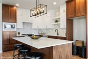 Ranch Style House Plan - 3 Beds 2 Baths 2378 Sq/Ft Plan #124-1194 Interior - Kitchen