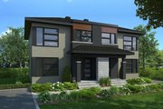 Modern Style House Plan - 6 Beds 2 Baths 2760 Sq/Ft Plan #23-2639 Exterior - Front Elevation