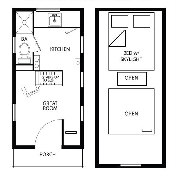 Cottage Floor Plan - Main Floor Plan Plan #896-3