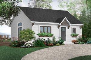 Cottage Exterior - Front Elevation Plan #23-113