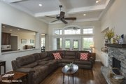 Traditional Style House Plan - 4 Beds 3 Baths 2607 Sq/Ft Plan #929-741 Interior - Family Room