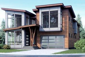 Modern Exterior - Front Elevation Plan #1066-10
