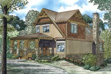 Home Plan - Country Exterior - Front Elevation Plan #17-2452