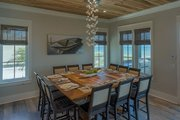 Beach Style House Plan - 4 Beds 3 Baths 2810 Sq/Ft Plan #901-114 Interior - Dining Room