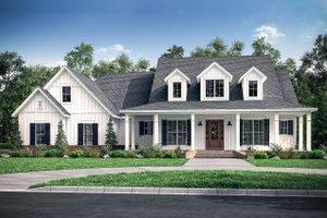 Farmhouse Exterior - Front Elevation Plan #430-175