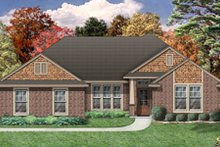 Home Plan - Bungalow Exterior - Front Elevation Plan #84-477
