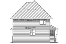 House Blueprint - Country Exterior - Rear Elevation Plan #18-291