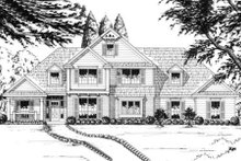 Traditional Exterior - Front Elevation Plan #40-260