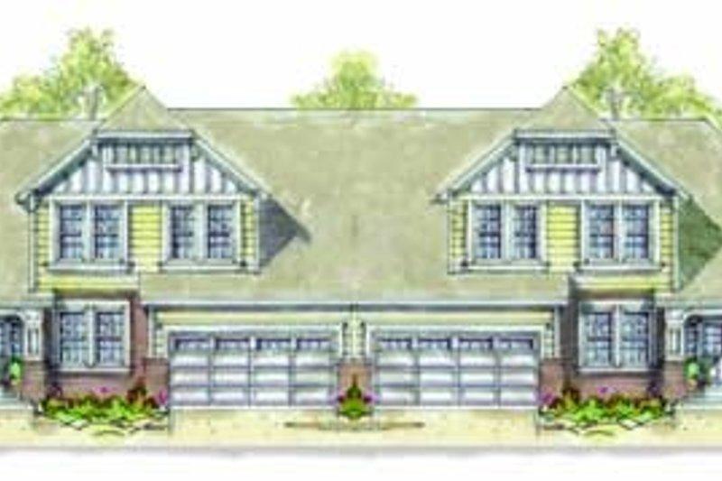 Architectural House Design - Cottage Exterior - Front Elevation Plan #20-1353