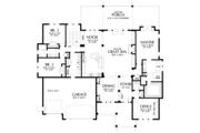 Craftsman Style House Plan - 4 Beds 3.5 Baths 4702 Sq/Ft Plan #48-673