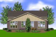 Craftsman Exterior - Rear Elevation Plan #48-566