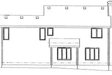 Traditional Exterior - Rear Elevation Plan #20-601
