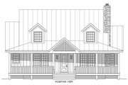 Country Style House Plan - 3 Beds 3.5 Baths 1990 Sq/Ft Plan #932-13 Exterior - Front Elevation
