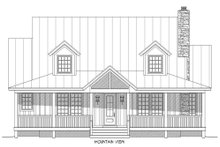 Architectural House Design - Country Exterior - Front Elevation Plan #932-13