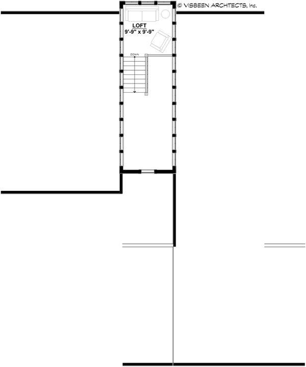 Dream House Plan - Modern Floor Plan - Upper Floor Plan #928-351