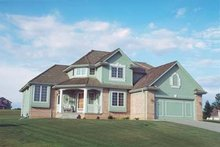 Traditional Exterior - Front Elevation Plan #20-653