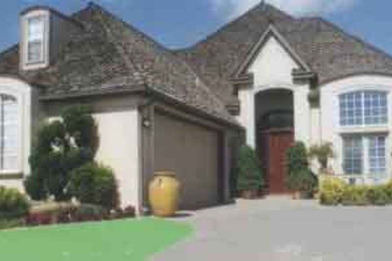 European Exterior - Front Elevation Plan #52-166 - Houseplans.com