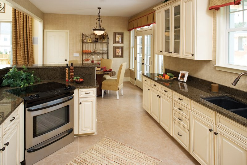Country Interior - Kitchen Plan #929-19 - Houseplans.com