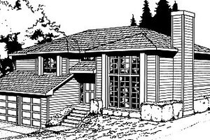 House Plan Design - Traditional Exterior - Front Elevation Plan #87-301