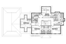Cottage Floor Plan - Upper Floor Plan Plan #928-327